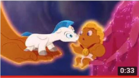 Hercules and Pegasus * Walt Disney