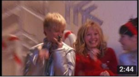 Aaron Carter feat Hilary Duff & Lalaine Vergara - I Want Candy. ( Filmed Jan 22nd 2001 )