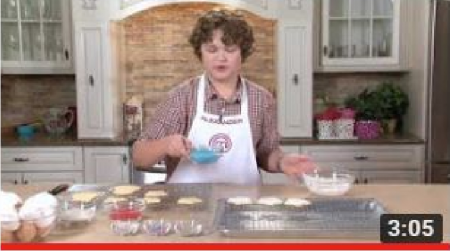 How to Make Holiday Cut-Out Cookies * Masterchef Junior