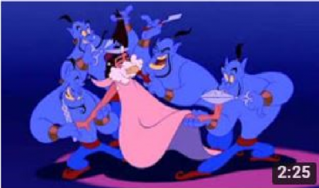 Aladdin * Friend Like Me * Walt Disney