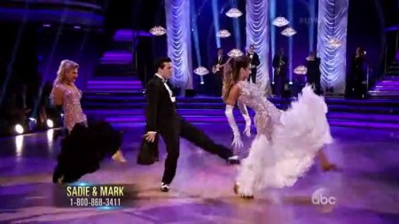 Saddie Robertson & Mark Ballas * Dancing with the Stars