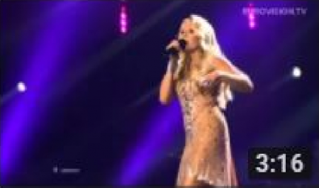Cascada * Glorious (Germany) LIVE  2013 Grand Final