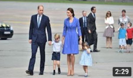 Princess Kate Middleton, Prince William, Prince George & Princess Charlotte visit Germany  ( 19 Jul 17 )