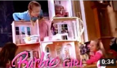 2008 Barbie Story Dream House Commercial Toys
