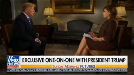 Donald Trump Full Interview With Maria Bartiromo Sunday Morning Futures October 22, 2017