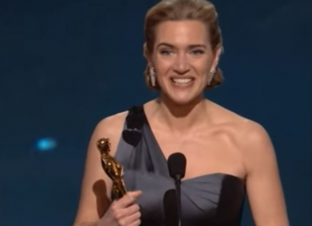 Kate Winslet won Oscar