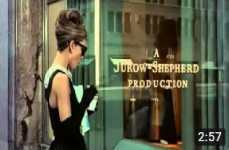Breakfast at Tiffany's Opening Scene