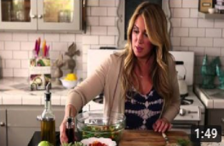 Haylie Duff's Green Bean Salad | Real Girl's Kitchen
