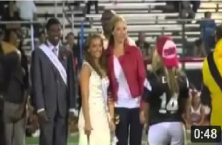Eminem 's Daughter Hailie Jade Scott Home Coming Queen