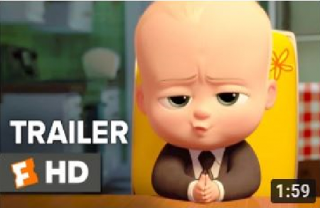 The Boss Baby Official Trailer (2017) * Alec Baldwin
