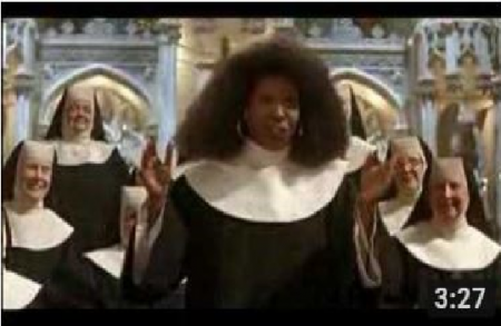 Sister Act (1992) | I Will Follow Him | Church Choir