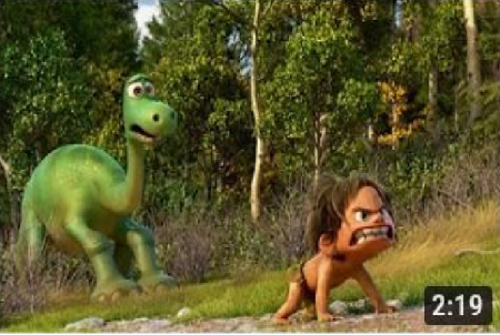 THE GOOD DINOSAUR | New UK Trailer HD | Official Disney Pixar