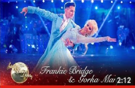 Dancing with the Stars * Disney Nights * Frankie Bridge and Gorka Marquez American Smooth Foxtrot to 'Let It Go' from Frozen