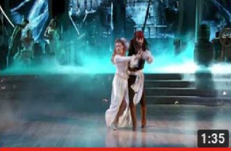 Riker Lynch & Allison Holker Dancing with the Stars week 5
