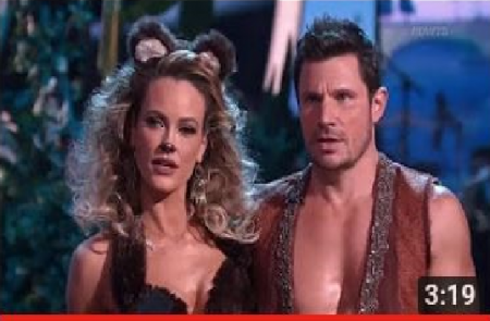 "Nick Lachey & Peta's ""Quickstep"" Dancing with the Stars Season 25 Week 5 (Disney Night) Part 1"