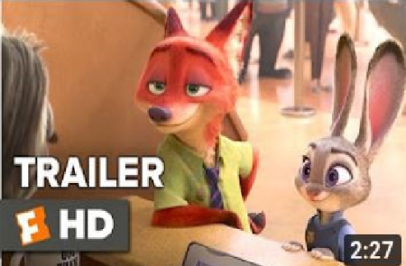 Zootopia Official Sloth Trailer (2016)