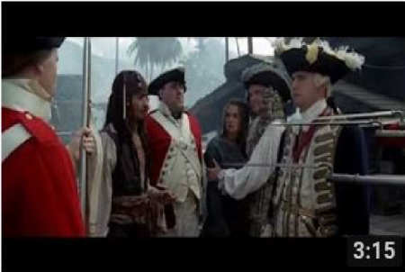 Pirates Of The Caribbean * The Curse Of The Black Pearl (2003) starring Johnny Depp