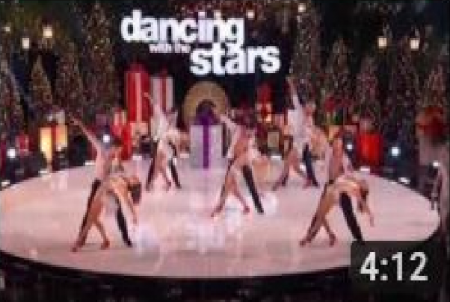 Dancing with the stars * Opening Number * Christmas The Grove * Nick Carter