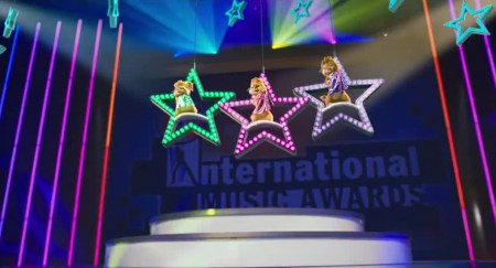 Alvin and the Chipmunks Chipwrecked at International Music Awards