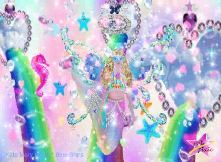 Rainbow Fairies Mermaids * Rainbow Diamond Castles * Kate & Blue Stars
