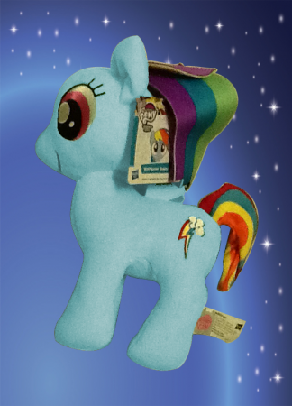 My Little Pony * Blue Rainbow