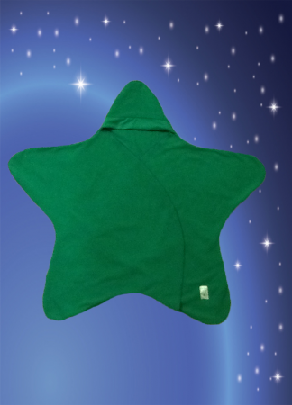 Green Star baby cover