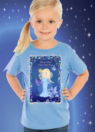 Blue Star Fairy T-Shirts