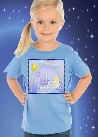 Blue Star Child T-Shirt